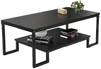 Журнальный, кофейный столик GoodsMetall в стиле Лофт 1200х600х450 ЖС147