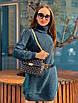 Теплое вязаное платье-свитер под горло, размер 44-54, расцветок очень много, фото 8