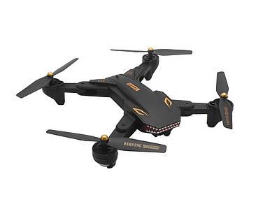 Квадрокоптер Visuo XS809S с камерой 2MP wide angle (Черный)