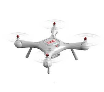 Квадрокоптер Syma X25 PRO с с системой GPS и FPV HD-камерой (Белый)