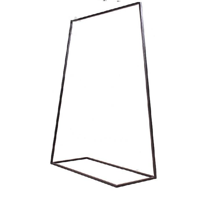 Вешалка стойка для одежды GoodsMetall в стиле Лофт 1550х600х450мм ВШ145