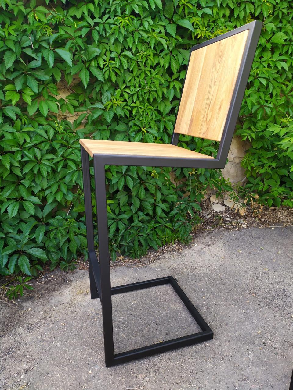 Барный стул GoodsMetall в стиле ЛОФТ 750х350х350 мм БС243