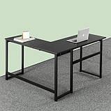 Стол письменный GoodsMetall из металла в стиле Лофт 1400/1250х500х750 СП130, фото 3