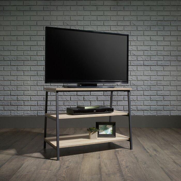 Тумба под телевизор GoodsMetall из металла в стиле Лофт 800х600х450 Т132
