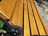 Скамья парковая GoodsMetall в стиле ЛОФТ 2000х450х450 - ЛС88, фото 7