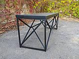 Журнальный, кофейный столик GoodsMetall в стиле Лофт 1200х400х450 ЖС777, фото 4