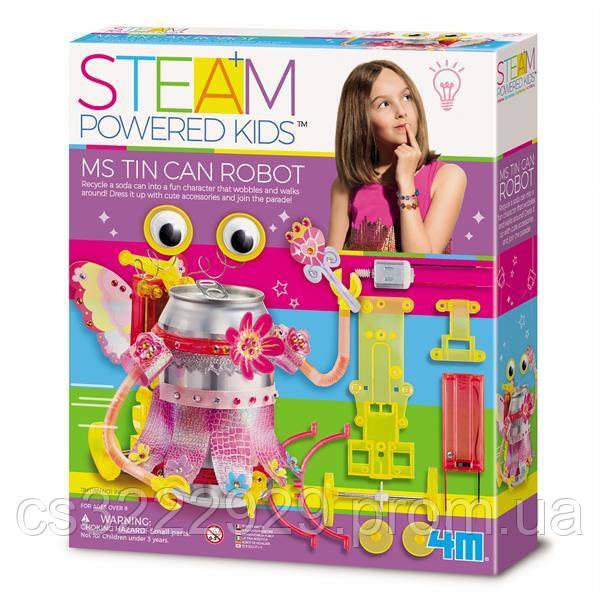 Набір для творчості 4M Робот-модниця (00-04906)