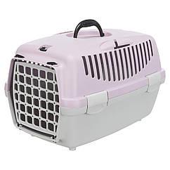 Переноска для собак и кошек Trixie Capri 1 31х32х48 см лиловая (39813)