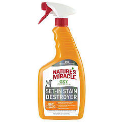 Спрей-устранитель Nature's Miracle «Set-In Stain Destroyer. Oxy Formula» для удаления пятен и запахов от собак