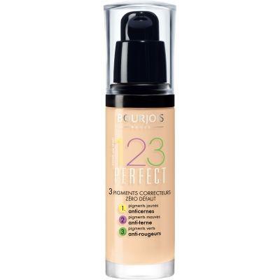 Тональная основа Bourjois 123 Perfect  №52 (vanilla) 30 мл