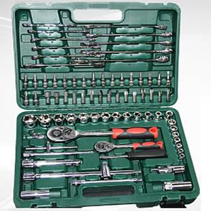 Набір інструментів ключів PIECE TOOL SET 78 штук 1/2