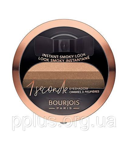 Тени для век Bourjois 1 Second Smoky №02 (brun-ette a-doree) 3 г, фото 2