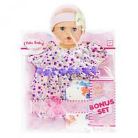 """Одежда для пупса """"Платьице в цветочек"""", кукольный набор,куклы,наборы кукол,куклы для девочек,детская кукла"""