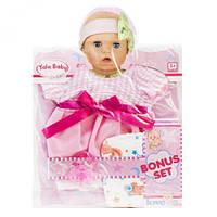 """Одежда для пупса """"Клетчатое розовое платьице"""", кукольный набор,куклы,наборы кукол,куклы для девочек,детская"""