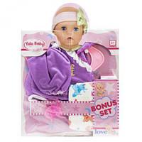 """Одежда для пупса """"Фиолетовый боди"""", кукольный набор,куклы,наборы кукол,куклы для девочек,детская кукла"""