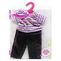 Одежда для пупсика: Штанишки и футболка, кукольный набор,куклы,наборы кукол,куклы для девочек,детская кукла