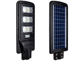 Уличный светильник FOYU 90W LED фонарь на солнечной батарее с датчиком движения свечение 15ч пластик