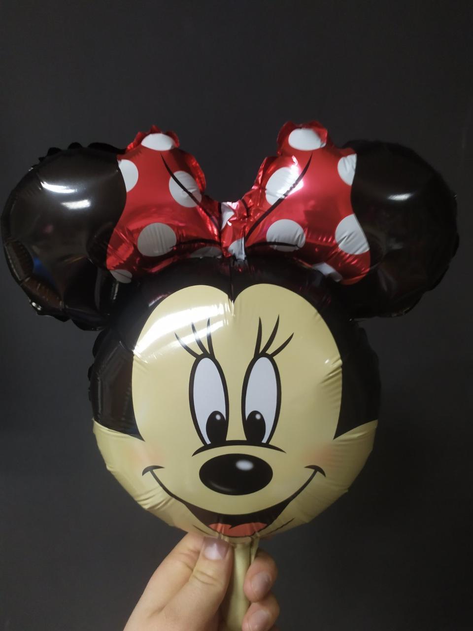 Фольгована кулька міні-фігура Мінні Маус 35х36см Китай
