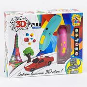 """Ручка 3D 7424 """"FUN GAME"""", на аккумуляторе, 6 цветов пластика, зарядка от USB порта, в коробке"""