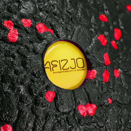 Массажный мяч 4FIZJO EPP 12 см 4FJ1271 Black/Red, фото 2
