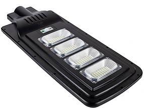 Уличный светильник FOYU 120W LED фонарь на солнечной батарее с датчиком движения корпус пластик