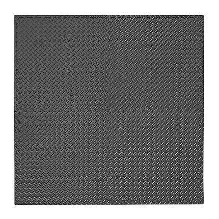 Защитный коврик 4FIZJO Mat Puzzle 120x120x1 cм 4FJ0060 Black, фото 2