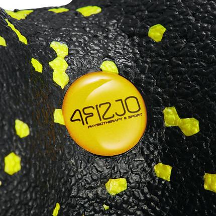 Массажный мяч двойной 4FIZJO EPP DuoBall 08 4FJ0083 Black/Yellow, фото 2