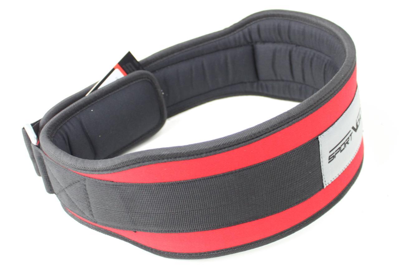 Пояс для тяжелой атлетики неопреновы SportVida SV-AG0104 (XL) Red