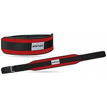 Пояс для тяжелой атлетики неопреновы SportVida SV-AG0104 (XL) Red, фото 2