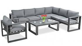 Комплект для тераси Alzac 284х218х70 grey