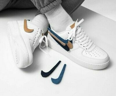 """Nike Air Force 1 '07 LV8 3 """"Removable Swoosh"""" (40(25.5см))"""
