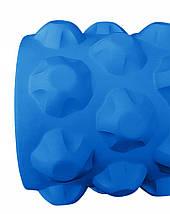 Массажный ролик (валик, роллер) SportVida SV-HK0171 Blue, фото 3
