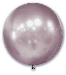"""Шар 21"""" (52 см) SHOW хром Розовый жемчуг (незначительный брак)"""