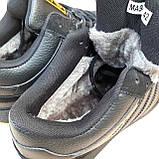 Чоловічі зимові кросівки в стилі Adidas INIKI чорні з помаранчевим, фото 6