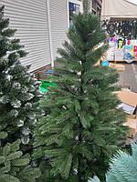 Елка искусственная новогодняя литая Ковалевская зеленая, фото 1