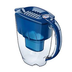 Фильтр кувшин Аквафор Аметист (синий) 2,8 л для очистки водопроводной воды