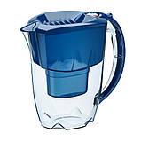 Фильтр кувшин Аквафор Аметист (синий) 2,8 л для очистки водопроводной воды, фото 5