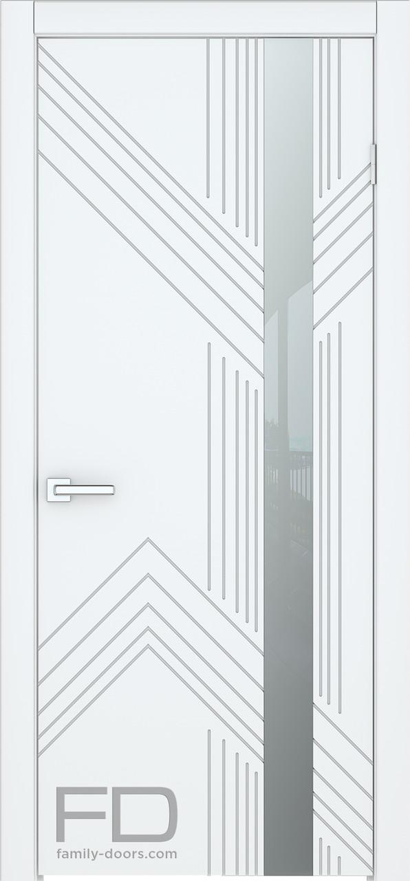 Міжкімнатні двері Hi-Tech 4 (Емаль) FD