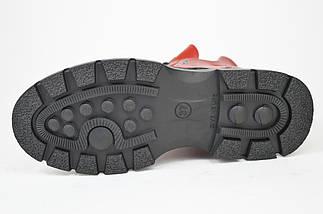 Ботинки зимние Evromoda 463100 кожа, фото 2
