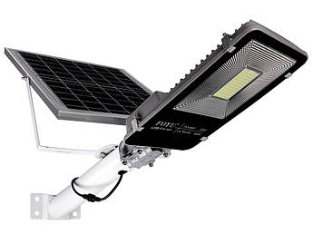 Уличный LED светильник FOYU 60 Вт прожектор на солнечной батарее с пультом ДУ свечение 11ч