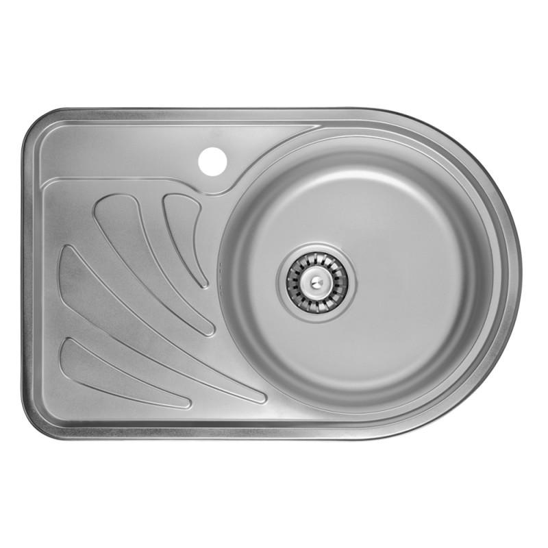 Кухонна мийка ULA 7111 R dekor (ULA7111DEC08R)