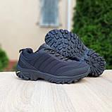 Чоловічі зимові кросівки в стилі Merrell Vibram чорні, фото 6