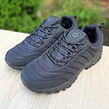 Чоловічі зимові кросівки в стилі Merrell Vibram чорні, фото 10