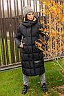 Модная женска куртка с яркими вставками новинка зима 2020- 2021, фото 3