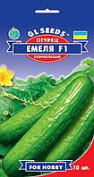 Огурец Емеля F1 урожайный гибрид партенокарпик высокоурожайный ранний, упаковка 10 шт