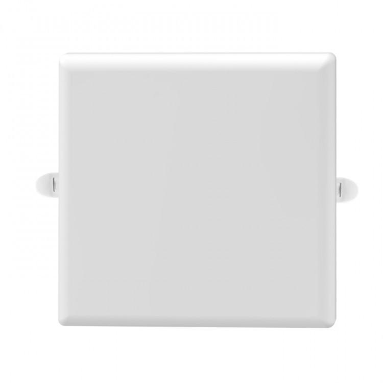 Встраиваемый светодиодный светильник Feron AL706 18W квадрат белый 1350Lm 4000K
