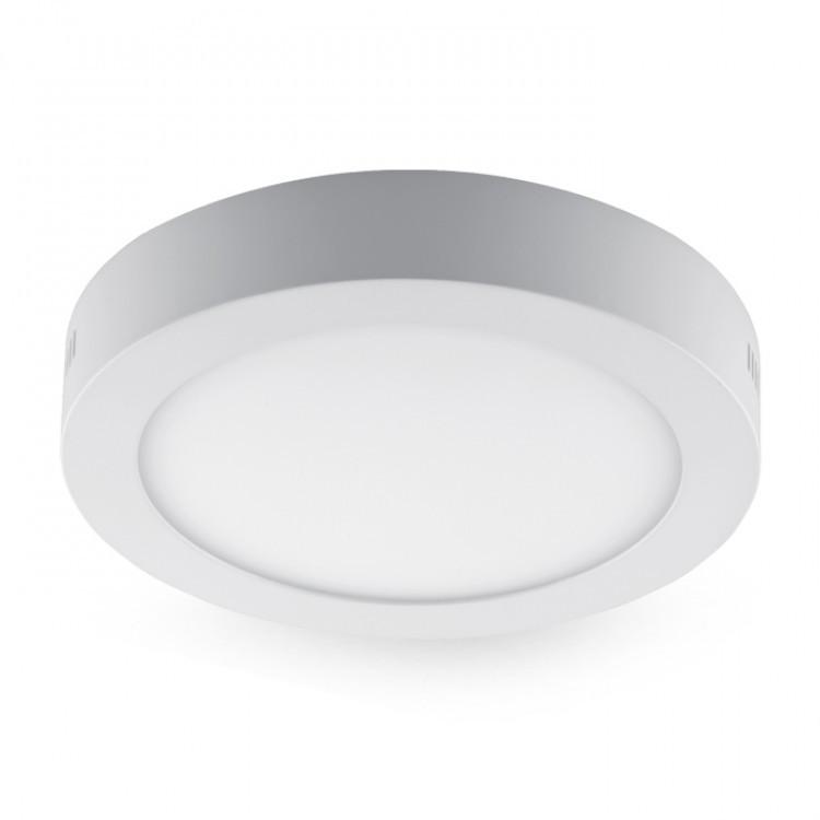 Накладной светодиодный светильник Feron AL504 OL 24W круг белый 1800Lm 4000K