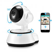 Поворотная Беспроводная IP Камера Wi-Fi 360 видео наблюдения (в ящике 50 шт)., фото 1