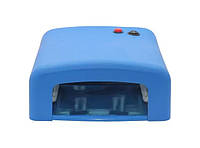 УФ лампа для маникюра ZH-818 36 Вт Синяя, фото 1