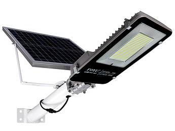 Уличный LED светильник FOYU 200Вт прожектор на солнечной батарее с пультом ДУ свечение 11ч
